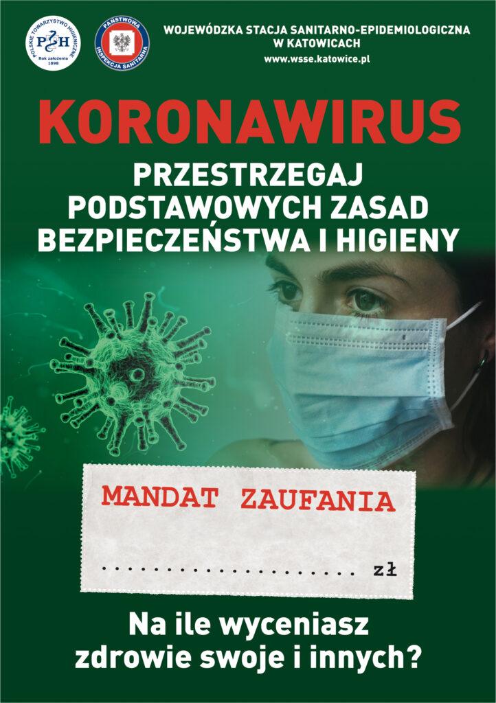 ulotka informacyjna dotycząca zagrożenia epidemiologicznego